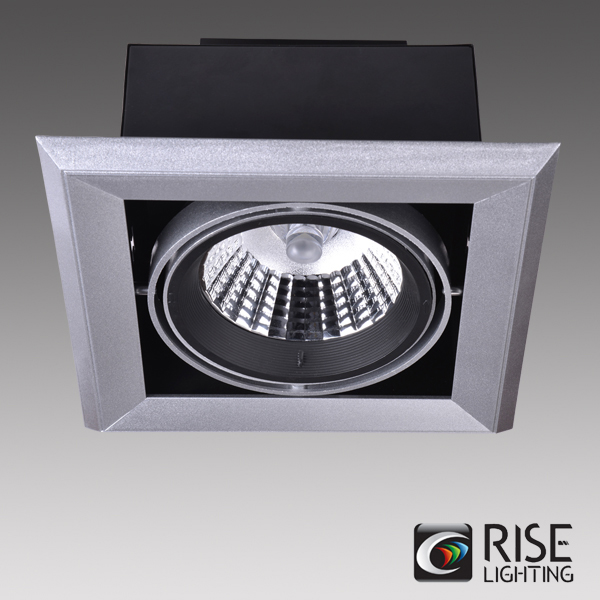 UL ETL listed AC85-265V Trimmed or Trimless COB light source multiple head led commercial lighting