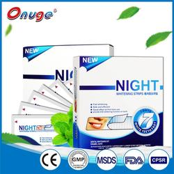 Super sticky teeth Whitening strips for night use, longer time effective
