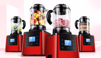 Red color housing fashion design food processor 1200w slow baker