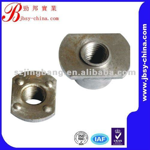 stainless steel weld nuts square weld nut m6