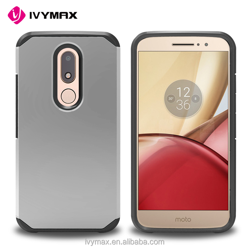 IVYMAX 2 in 1 pc tpu shockproof phone case cover for MOTO M/ XT 1662