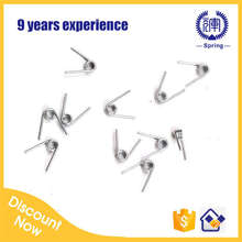 0.6mm wire small torsion spring