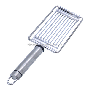 New Item C4-0249 Hot Selling Stainless Steel Tomato Slicer/Cutter