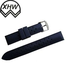 Custom made sports rubber silicone men s watch strap replacements online