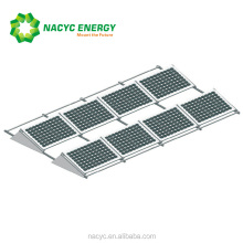 solar panel mounting aluminum rail roof mount solar racking systems