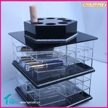 China Supplier Big Discount On Sale New Design Acrylic Lipstick Carousel Compact