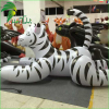 PVC advertising Inflatable tiger cartoon / animal model giant tiger toys