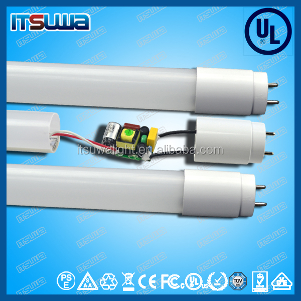 shenzhen LED lighting factory supply UL DLC listed T8 SMD LED tube , t8 24w led tube