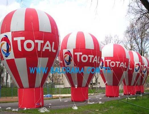 8 mt rooftop balloon, inflatable balloon advertising, printed balloon
