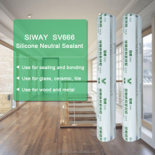 High Modulus Neutral Silicone Sealant for Aluminum Door Installation