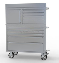 "Wholesale 41"" 12 drawers stainless steel argos tool chest"