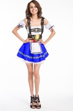 Hot sale Sexy German bavarian Beer Girl Costume adult shop