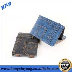 New Denim Jeans Smart Cover Case for iPad 2 3 4