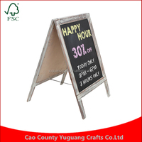 Freestanding Country Rustic Style Message Memo