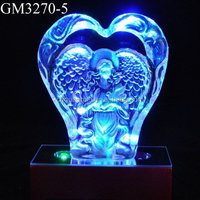 LED Business Gift Decorative Glass Blocks