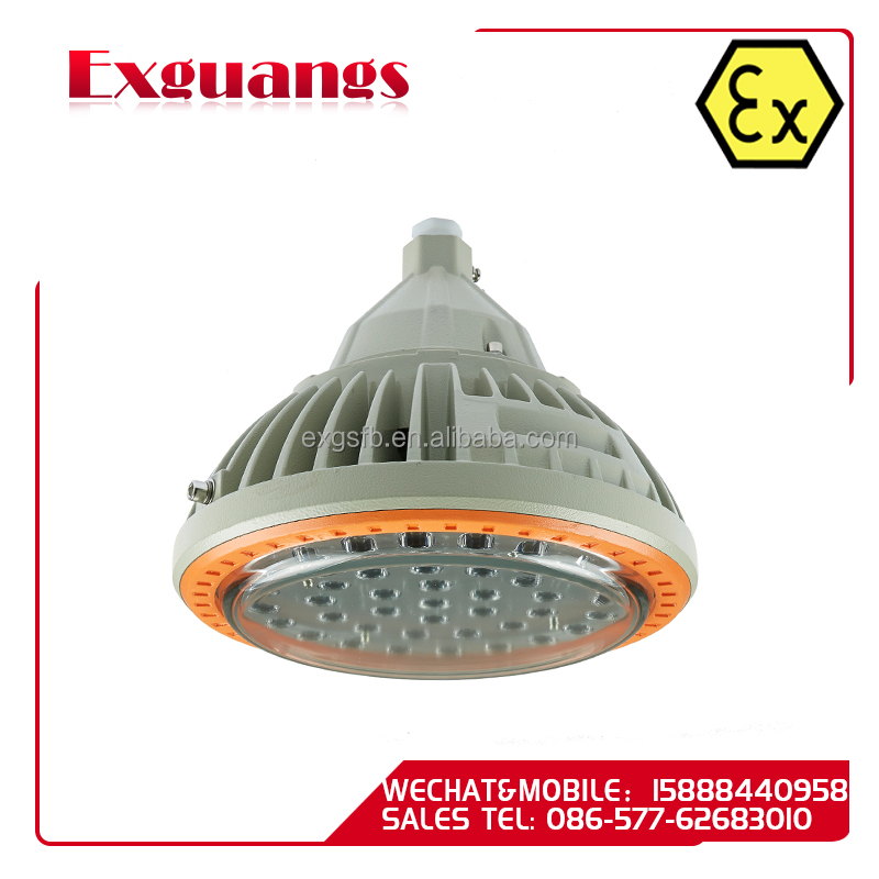 Low price LED Explosion proof Protected Lighting Fixtures (IIB,IIC,DIP)