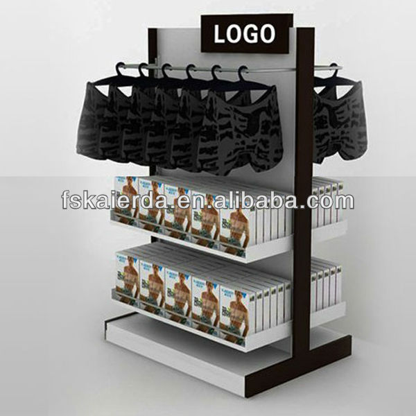 Slap-up retail lingerie display stand