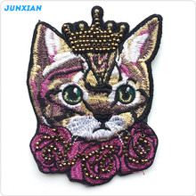 China factory wholesale cute cat style multipurpose clothing bead embroidery