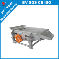 Milk Powder and cornstarch linear vibrating screen machine