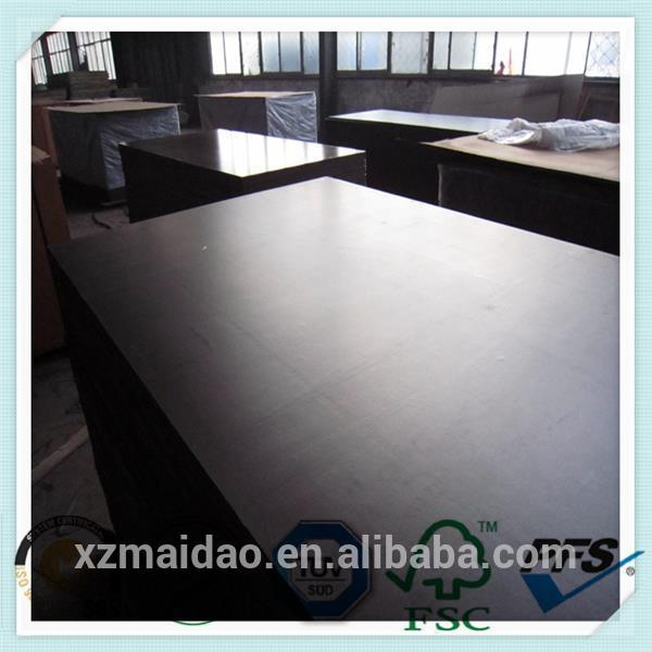 Different types of commercial tego film faced plywood for building with carb poplar plywood