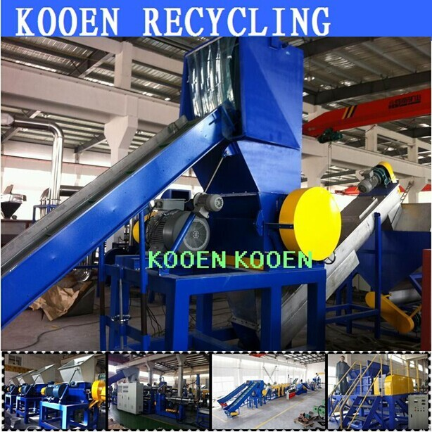 Advanced technology waste used ldpe pe plastic agriculture film recycling machine washing line