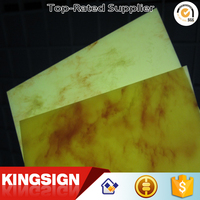 Interior decoration extruded 3mm marble plastic acrylic sheet