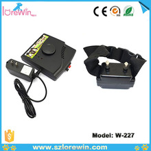 W-227 anti bark remote control dog slave training vibrating shock collar and leashes and electronic fence