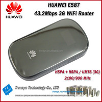 New Original Unlock DC-HSPA+ 43.2Mbps E587 Mini Pocket 3G WiFi Router Sim Card Slot