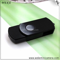 Portable White U-Disk Ultra HD Mini Spy DV Digital Camera 360 Degree Rotate