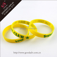 Quality and hot sales promotion gift silicon wrist band