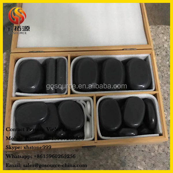 massage stone set for spa