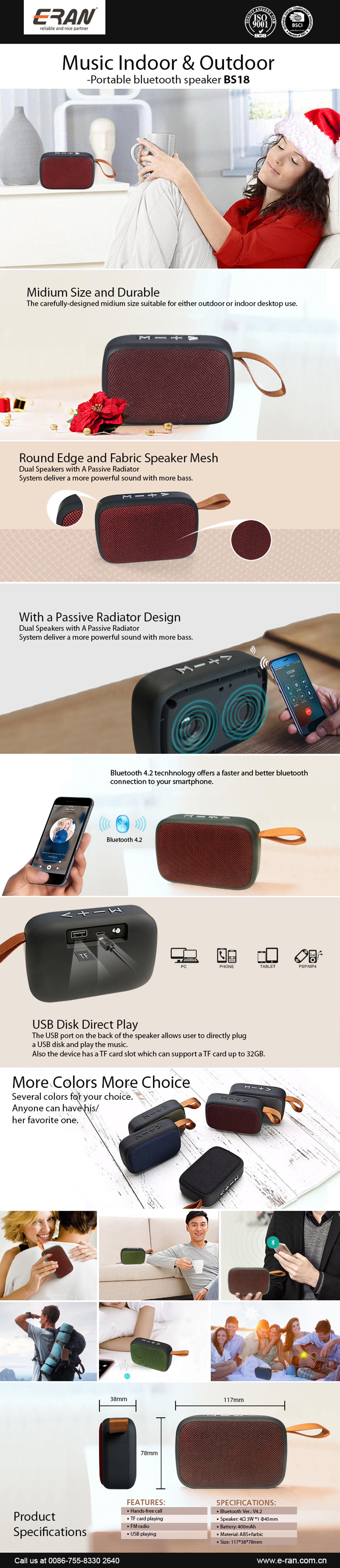 2018 Hot Sell New Design Speaker Bluetooth, Small And Exquisite Bluetooth Speaker Wireless,Mini Bluetooth Speaker