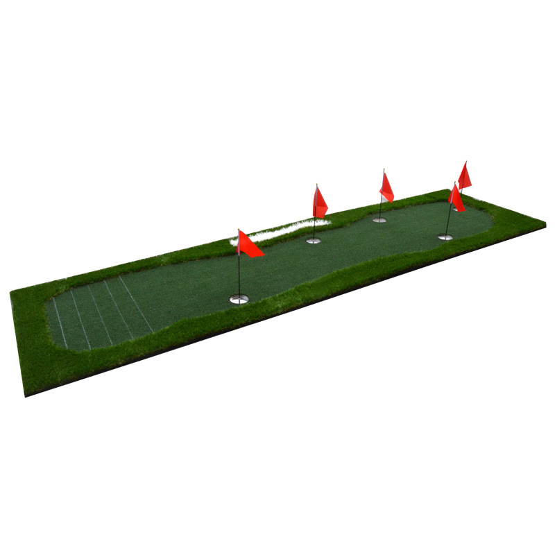 golf green golf Putting practice blanket with Graduation lines