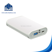 High capacity power bank for mobile phone type c fast charge power bank 10000mah powe bank with flash light