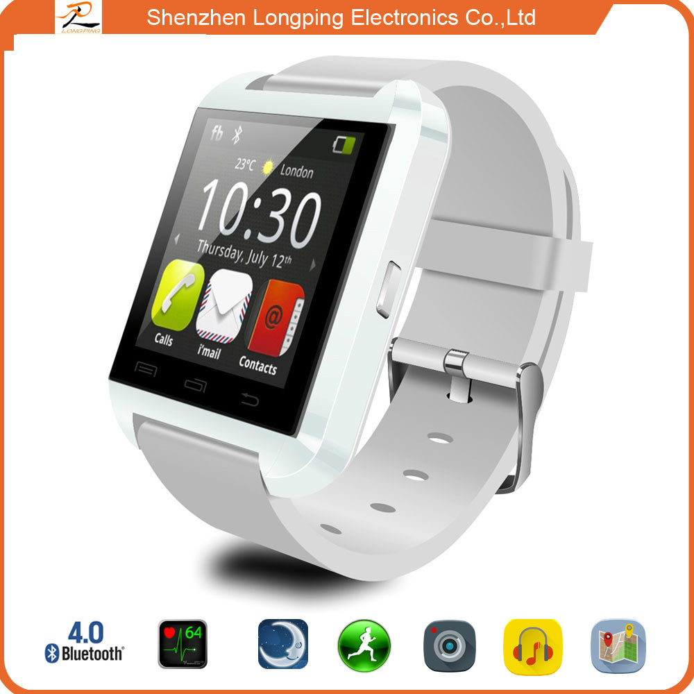 2015 shenzhen alibaba china answer bluetooth smart watch LP-U8 hand watch mobile phone