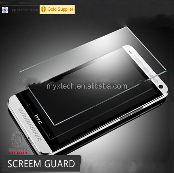 MYX Mobile Phone Glass 0.26mm 2.5d Tempered Glass Screen Protector For Htc Evo 4g Desire 709d Hd2 Htc One M7 Htc 826