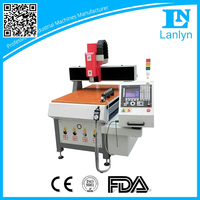 Wood/ stone marble 3 axis desktop used cnc routers cnc milling machine lathe for sale