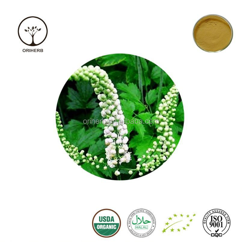 100% pure organic nature black cohosh extract powder