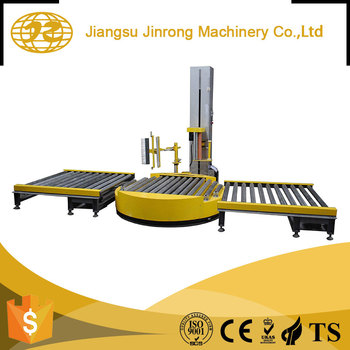 Perfect design automatic Pallet high speed film warping machine