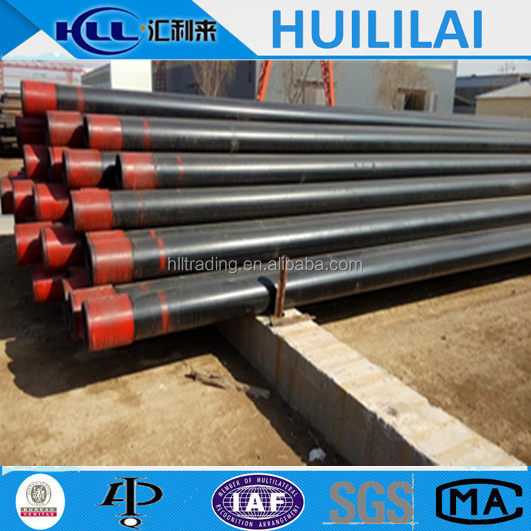 API 5CT oil casing pipe K55 J55 N80 L80 P110 API steel pipe