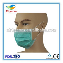 Non Woven daily consumer products 3ply surgical nonwoven disposable face mask
