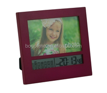 Photo Frame Wall Clock Home Decoration Christmas Gift Art Square Shape Clock