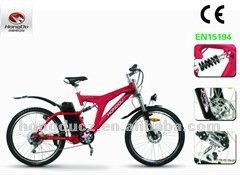 MTB 350W motor electric bicycle with Lithium battery CE