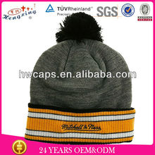Wholesale knitted hat mass beanies knitted earmuff hat pattern