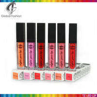 Hot selling LED lipgloss with mirror and led lights wholesale led lip gloss private label
