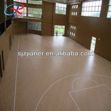 Wooden Flooring Fit In Basketball Area