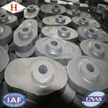 HX nozzle brick al-zr-c material refractory sliding gate platefor concasting of steel good quality