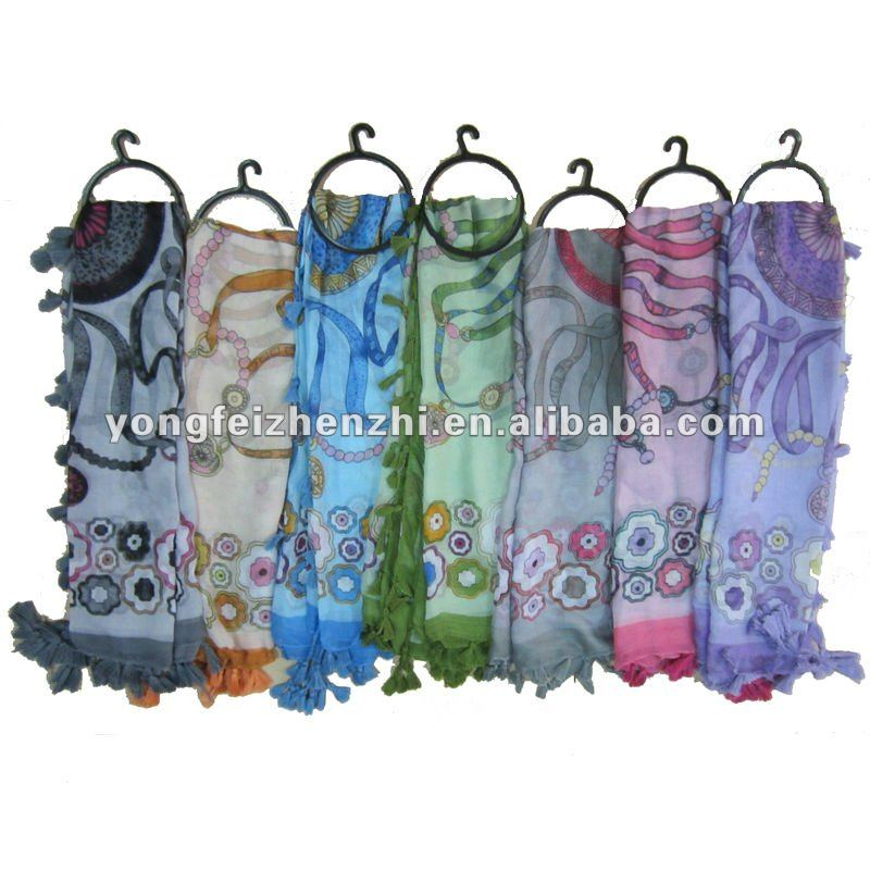 2012 fashion hijab print scarfs for sale