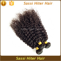 Factory Hot Selling 100% Virgin Hair Pieces Kinky Afro Curly
