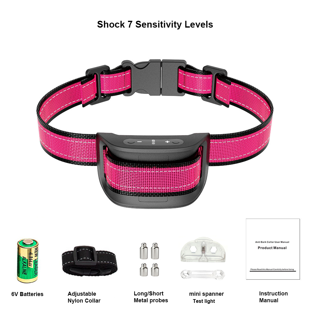 Amazon Best Seller Safe Humane Shock Bark Dogs Collars  Over 15 Pounds